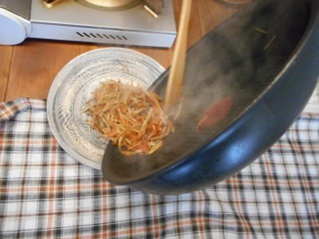 画像4: メープルシロップのきんぴらごぼう チーズかけ