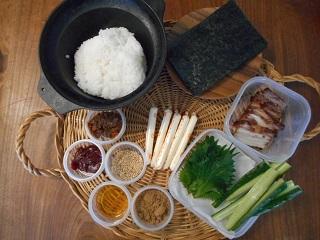 画像1: 韓国風チーズ手巻き寿司