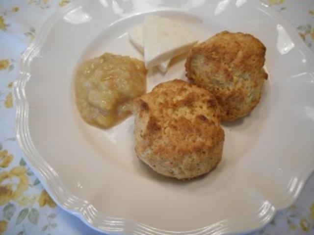 画像4: バナナとリンゴのみりんのジャム と レモンチーズ のスコーン