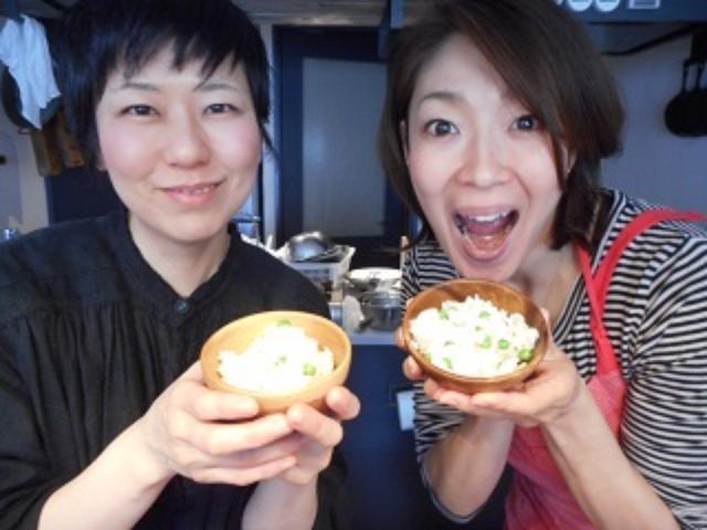 画像6: ホタテの炊き込みご飯 チーズ&レモン風味