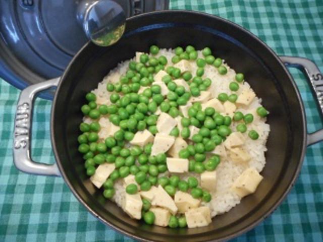 画像4: ホタテの炊き込みご飯 チーズ&レモン風味