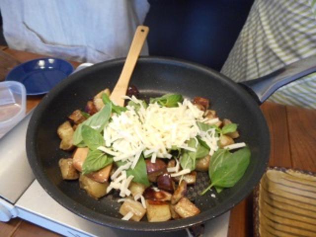 画像5: 茄子とバジルとモツァレアのグラタン