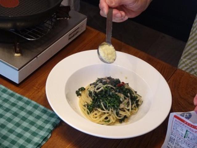 画像4: パセリとチーズのペペロンチーノ