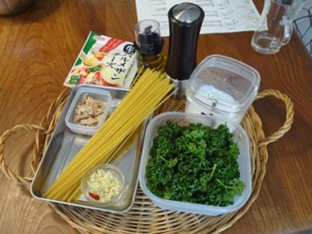 画像1: パセリとチーズのペペロンチーノ