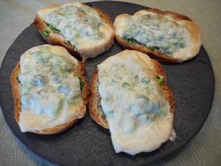 画像5: ねぎとチーズのカナッペ