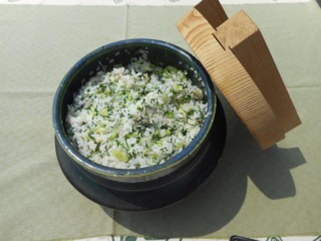 画像5: 青梗菜とチーズのご飯