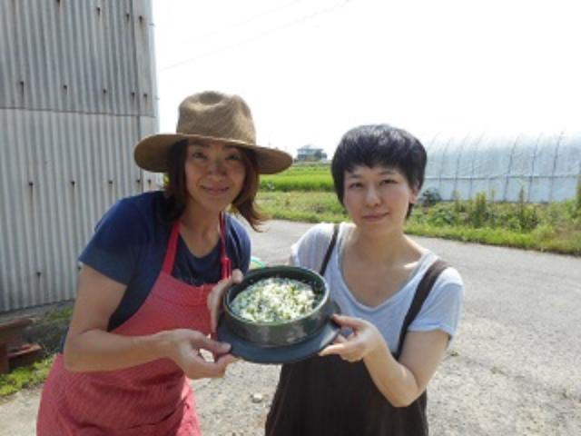画像7: 青梗菜とチーズのご飯