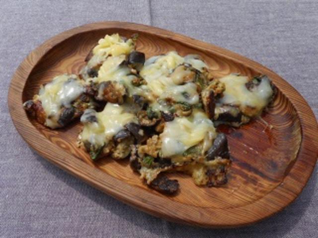画像6: 茄子の和風ハンバーグ チーズ乗せ