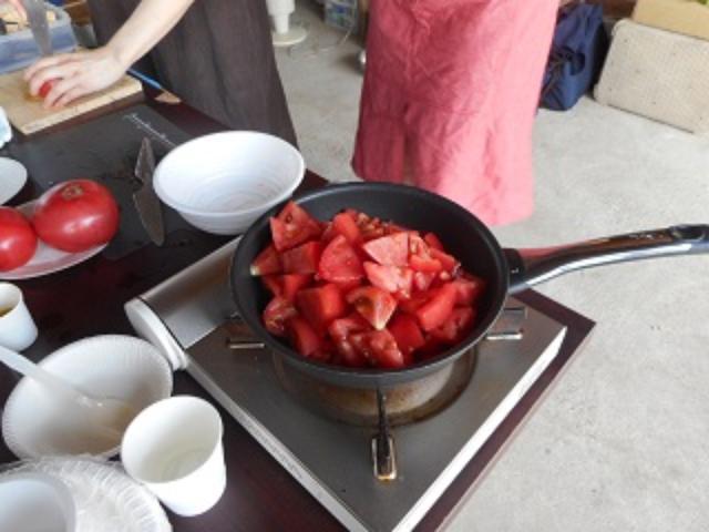 画像3: トマトのチーズトマトソース和え