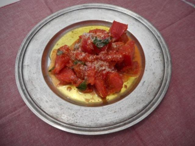 画像6: トマトのチーズトマトソース和え