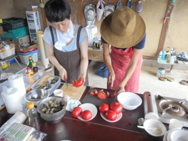 画像2: トマトのチーズトマトソース和え