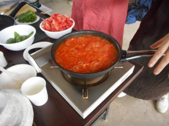 画像4: トマトのチーズトマトソース和え