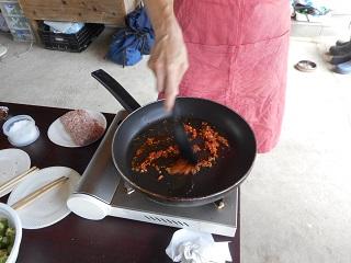 画像4: オクラ麻婆チーズ丼
