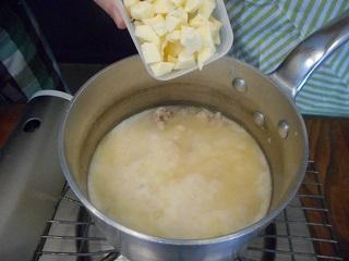 画像4: 冷ごはんで簡単!鶏と栗のリゾット