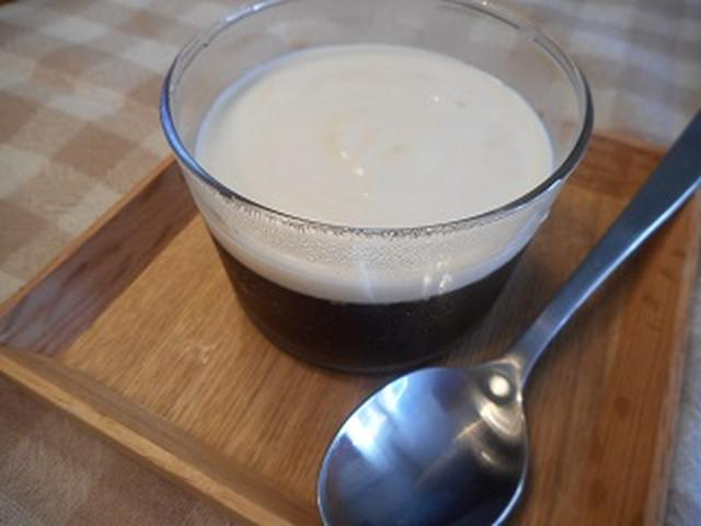 画像4: 和栗チーズクリームのコーヒーゼリー