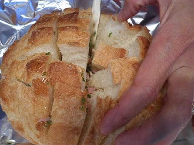 画像4: パンのチーズ焼き