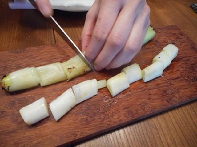 画像5: 丸ごとネギ焼きのチーズ乗せ