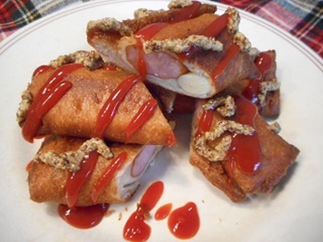 画像6: 食パンでアメリカンドッグ
