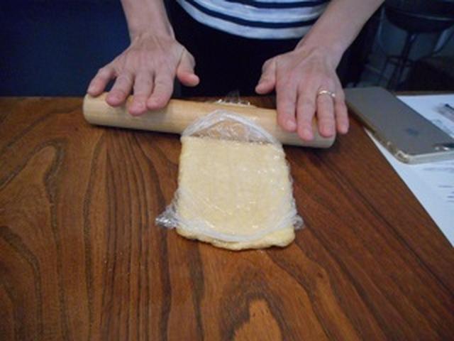 画像2: チーズポテサラの油揚げ巻き