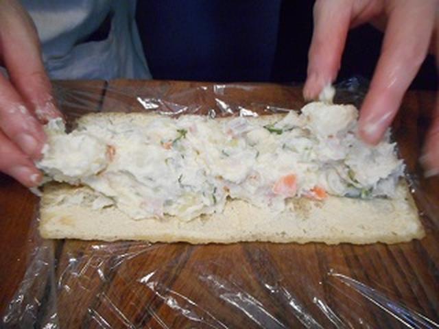画像6: チーズポテサラの油揚げ巻き