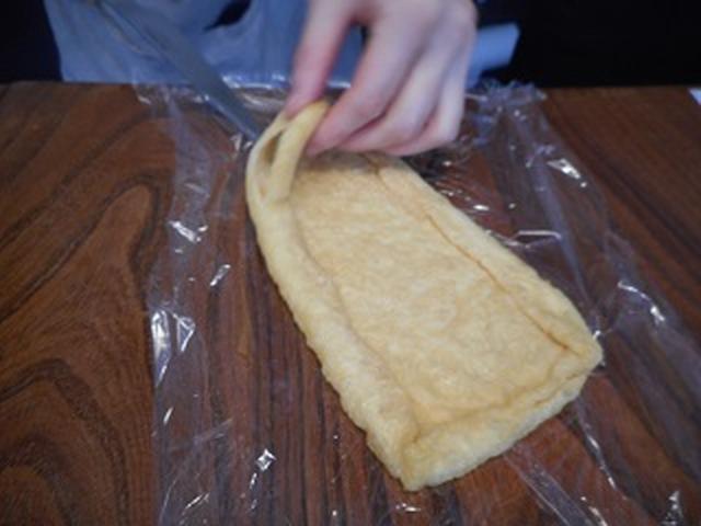 画像3: チーズポテサラの油揚げ巻き