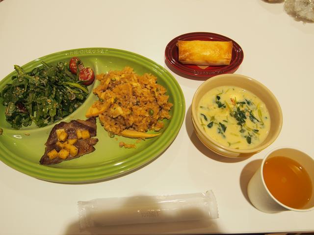 画像: 作られたお料理はこんな感じ!おいしかったです〜!!!
