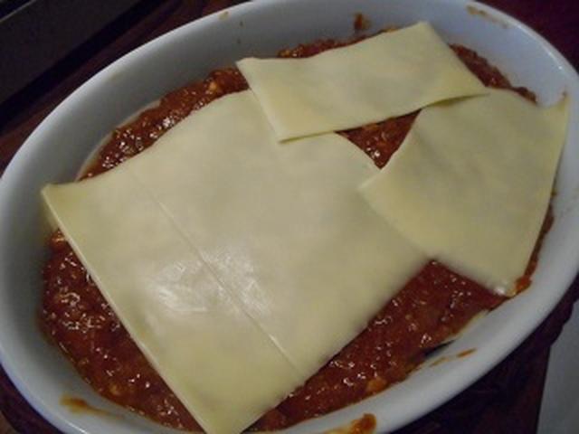 画像3: 餃子の皮で簡単ラザニア