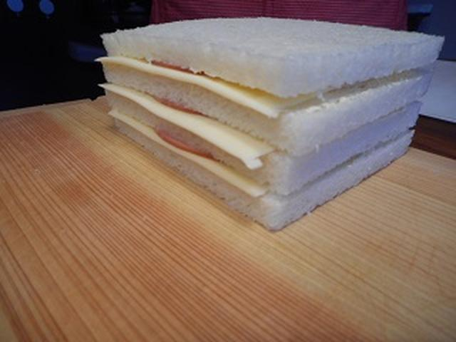 画像3: ショートケーキ風サンドイッチ