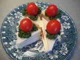 画像5: ショートケーキ風サンドイッチ