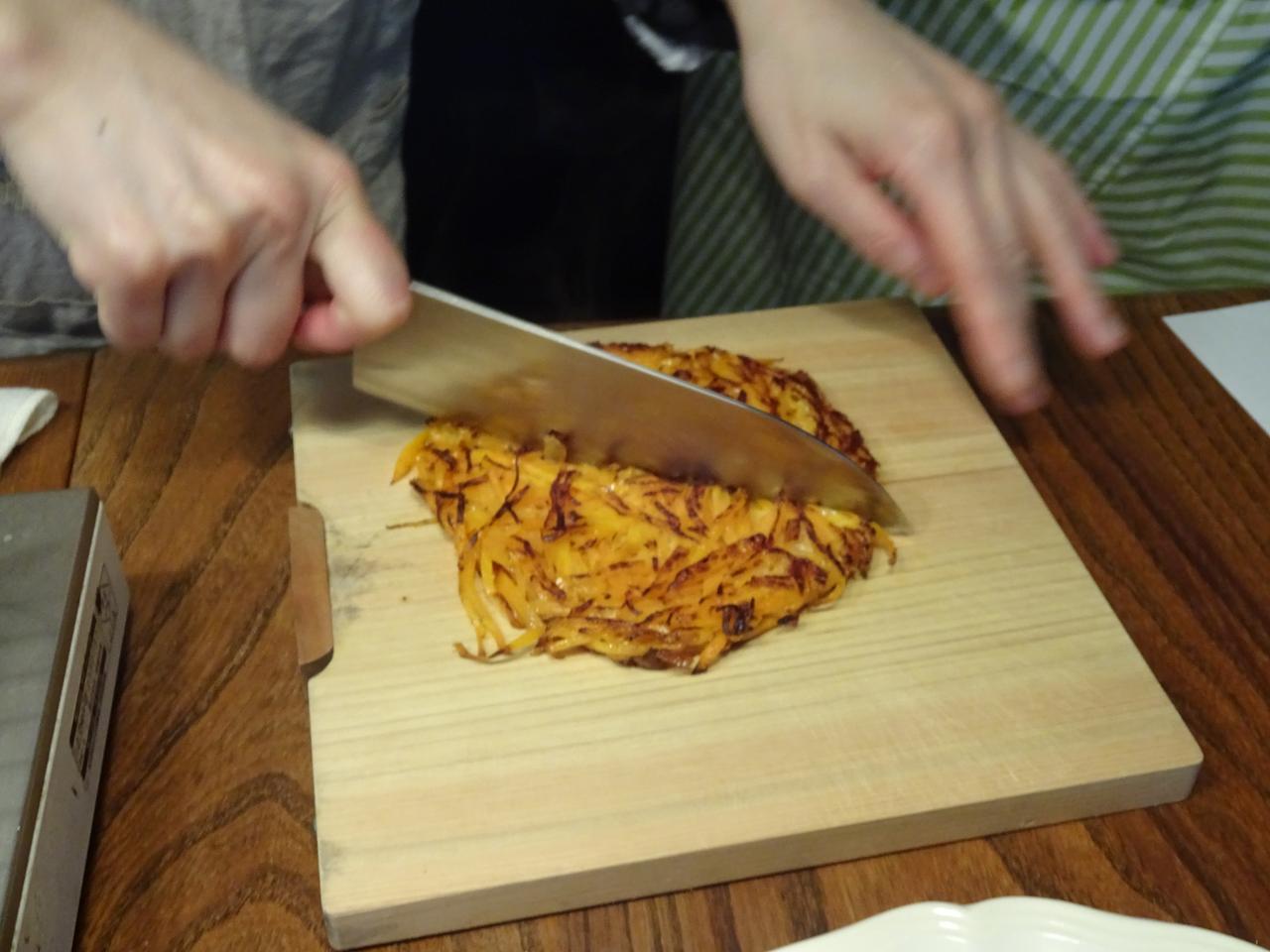 画像4: 人参とチーズのガレット