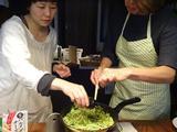 画像5: カニカマとズッキーニのチーズ炒め