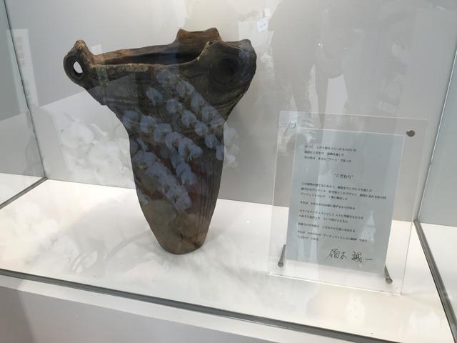 画像: こちらが縄文式土器。こだわりが書かれています。
