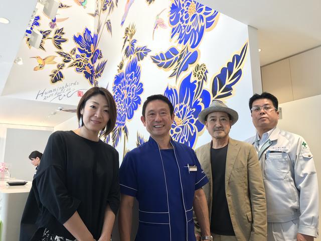画像: 左から、大塚・りょうき先生・熊沢さん・中村さん