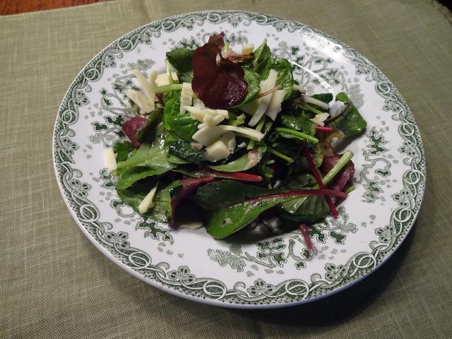 画像4: チーズ入りグリーンサラダ