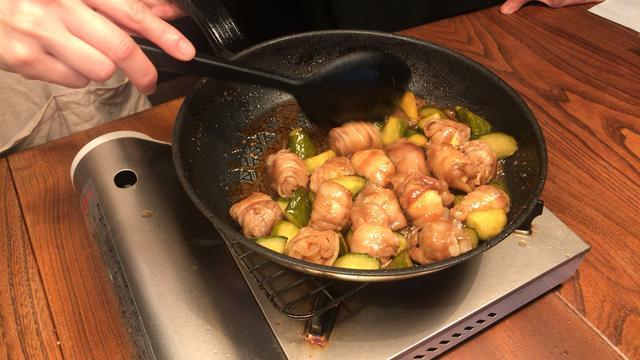 画像6: 酢豚風炒め物