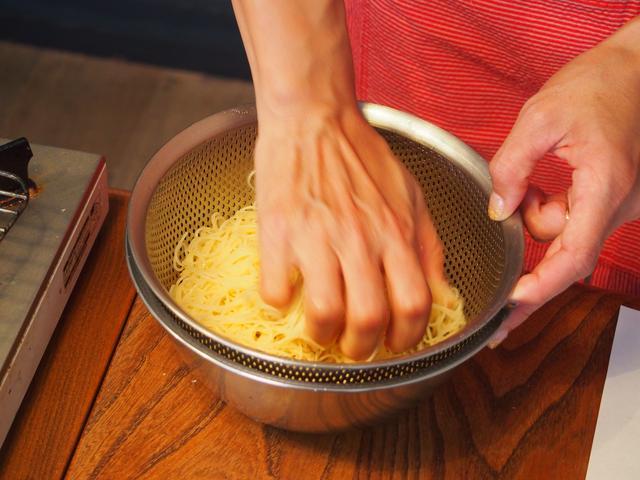 画像4: 冬瓜とチーズの冷製パスタ