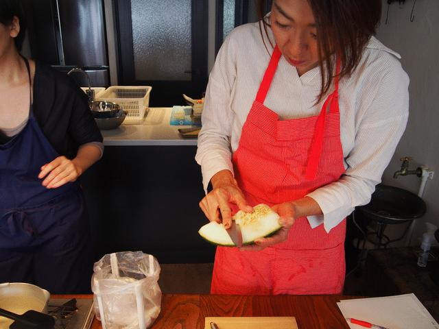 画像2: 冬瓜とチーズの冷製パスタ