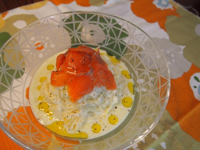 画像7: 冬瓜とチーズの冷製パスタ