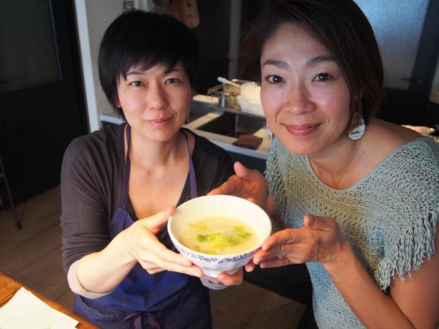 画像7: レタスとレモンチーズのスープ