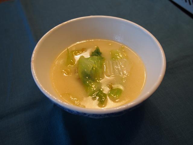 画像5: レタスとレモンチーズのスープ