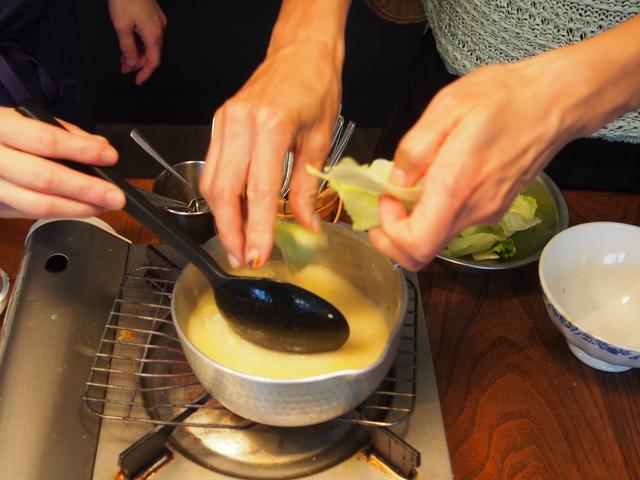 画像4: レタスとレモンチーズのスープ