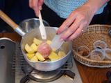 画像2: ジャガイモの甘辛チーズと海苔和え