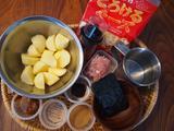 画像1: ジャガイモの甘辛チーズと海苔和え