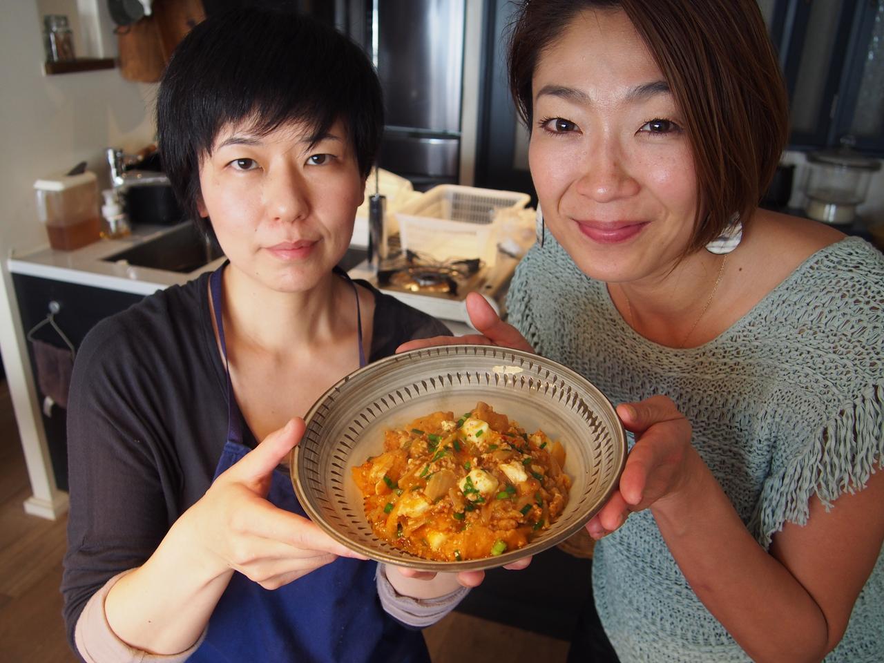 画像8: キムチのマーボー豆腐風