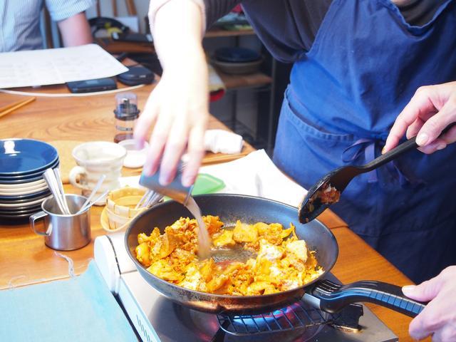 画像3: キムチのマーボー豆腐風