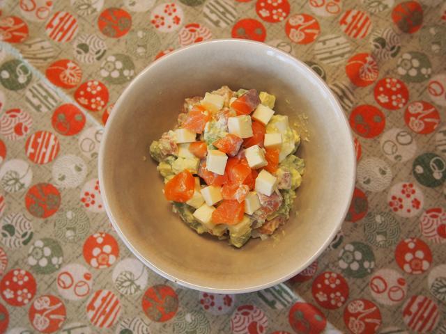 画像4: 柚子胡椒チーズのアボカドタルタル