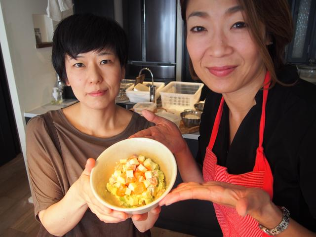 画像6: 柚子胡椒チーズのアボカドタルタル