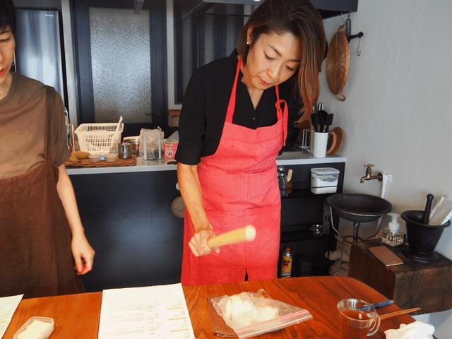 画像2: サバと長いもとチーズの丼