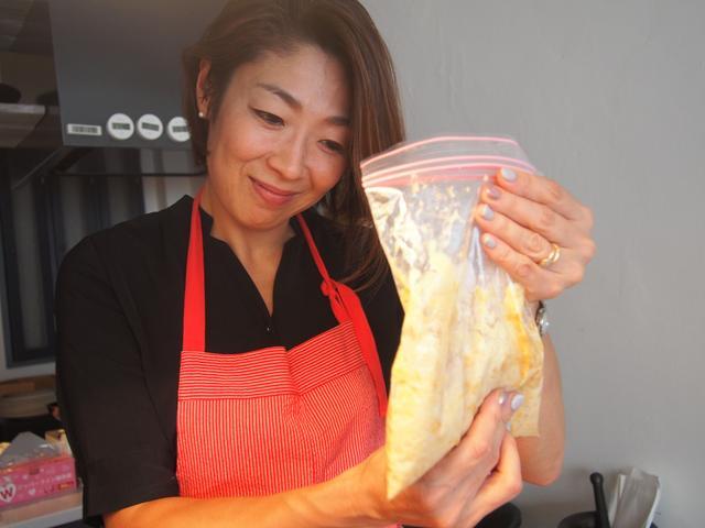 画像3: バナナとバニラチーズのきな粉ドリンク