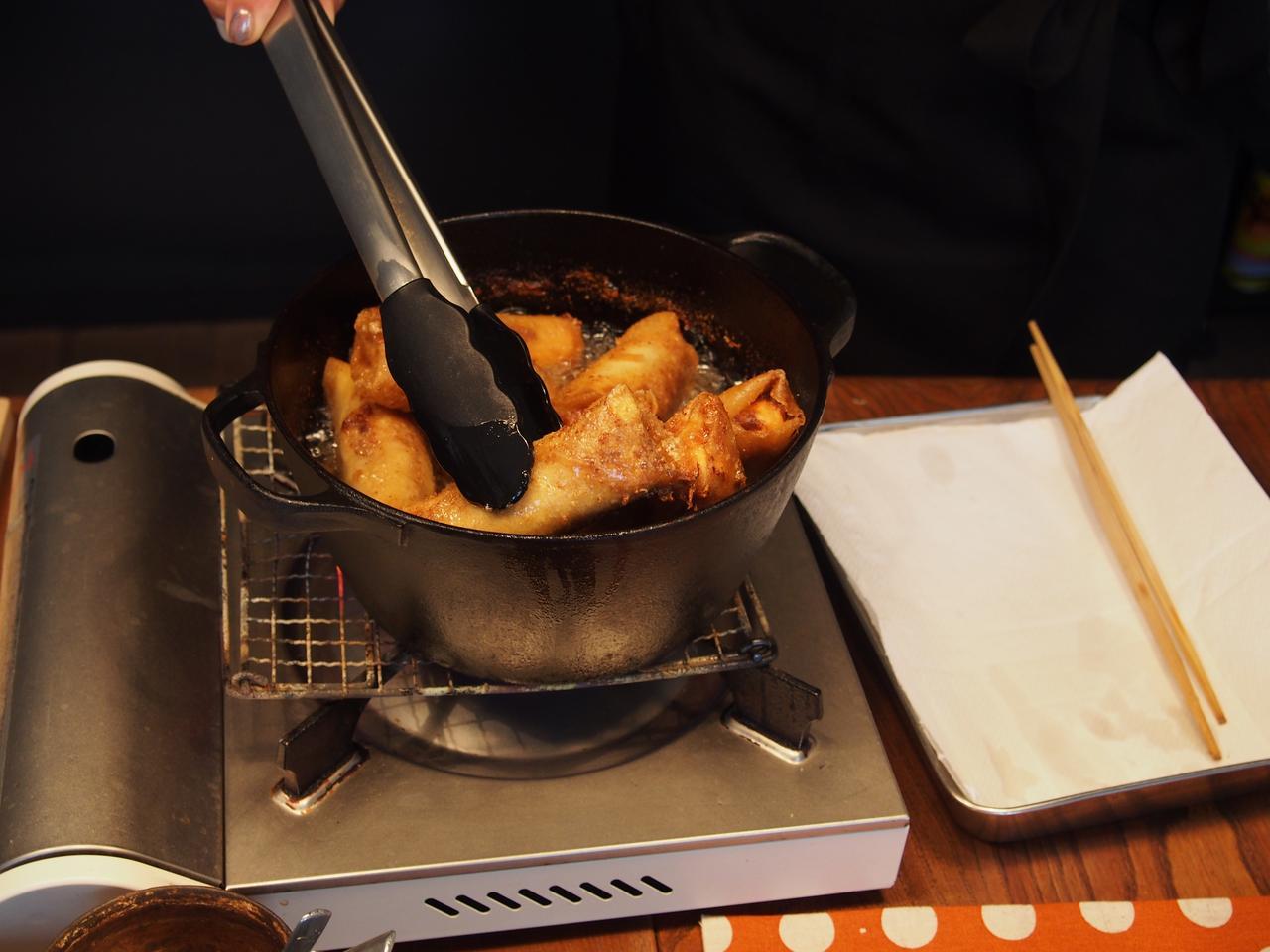 画像7: チーズ入りミートパイ風
